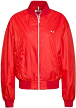 Tommy Jeans Bomber Recycled Rojo Mujer