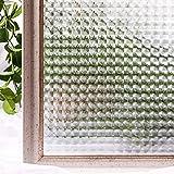 N / A Film de fenêtre avancé sans Colle 3D décoration électrostatique PVC Couverture de Protection de la Vie privée Autocollant de Verre de fenêtre A21 45x100 cm