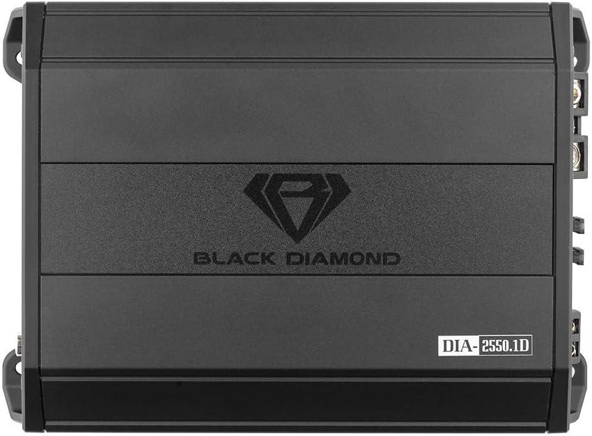 Full Range 1850 Watts Black Diamond DIA-1850.4 Car Audio Amplifier Class Ab 4 Channel