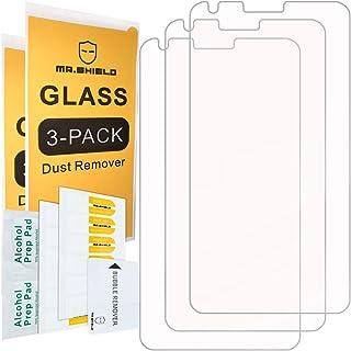 [3-PACK]- واقي شاشة Mr.Shield مصمم لهاتف LG G6 Duo/LG G6 [زجاج مقسى] [زجاج ياباني ذو صلابة 9H] مع استبدال مدى الحياة
