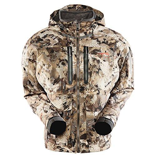 Sale!! Sitka Men's Hudson Waterproof Insulated Hunting Jacket, Optifade Waterfowl, Small