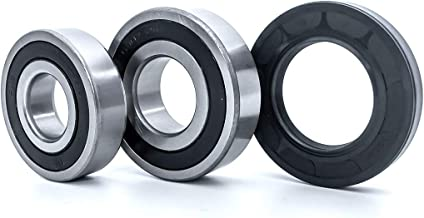 FKG Front Load Washer Tub Bearing and Seal Kit 134509510, AP3892114, 1191144, 134509500 For Frigidaire, Kenmore, Crosley