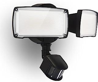 UME 17W LED Security Light Motion Sensor Outdoor, 2 Adjustable Head, 2000LM, 5000K, IP65 Waterproof, Dusk to Dawn Flood Li...