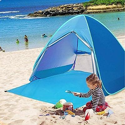 TopDirect Instant Pop up Beach Tent Sun Shelter