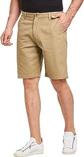 JustSun Mens Casual Chino Shorts Classic Summer
