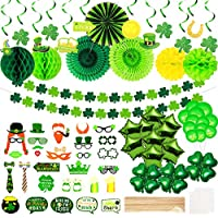 80-Pieces St.Patrick's Day Decorations, Green Party Decoration Accessories Irish Party Supplies