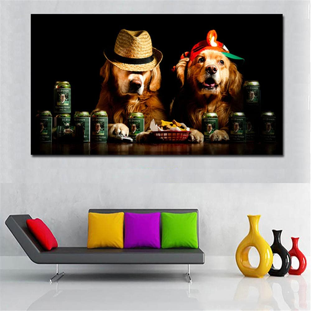 Outlet SALE Diamond Painting Cute Dog with Hat Ranking TOP6 5d Painti Art