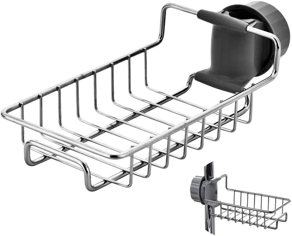 Kitchen Sink Sale price Caddy Organizer Over Stainles Faucet Holder Sponge 2021 new