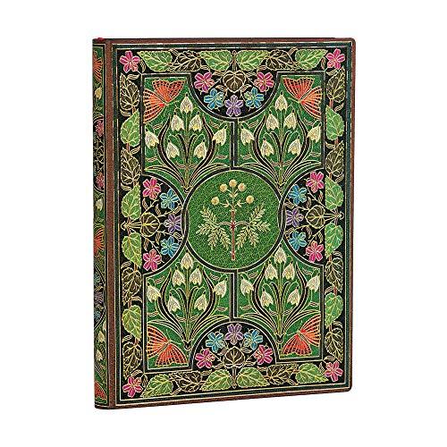 Paperblanks - Blühende Poesie - Notizbuch Midi Flexi Unliniert - 240 Seiten (Flexis)