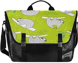 Sloths Lovel - Bolso de lona para hombre y mujer, diseño retro