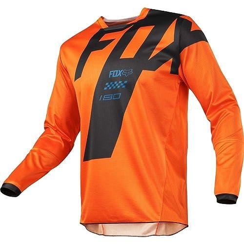 Fox Racing 2018 180 Mastar Jersey-Orange-M 1d57b4d9d