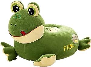 Childrens Sofa Children Chair  Cartoon Frog Plush Soft Child Sofa  Green Cute Baby Sitting Small Sofa Chair Children