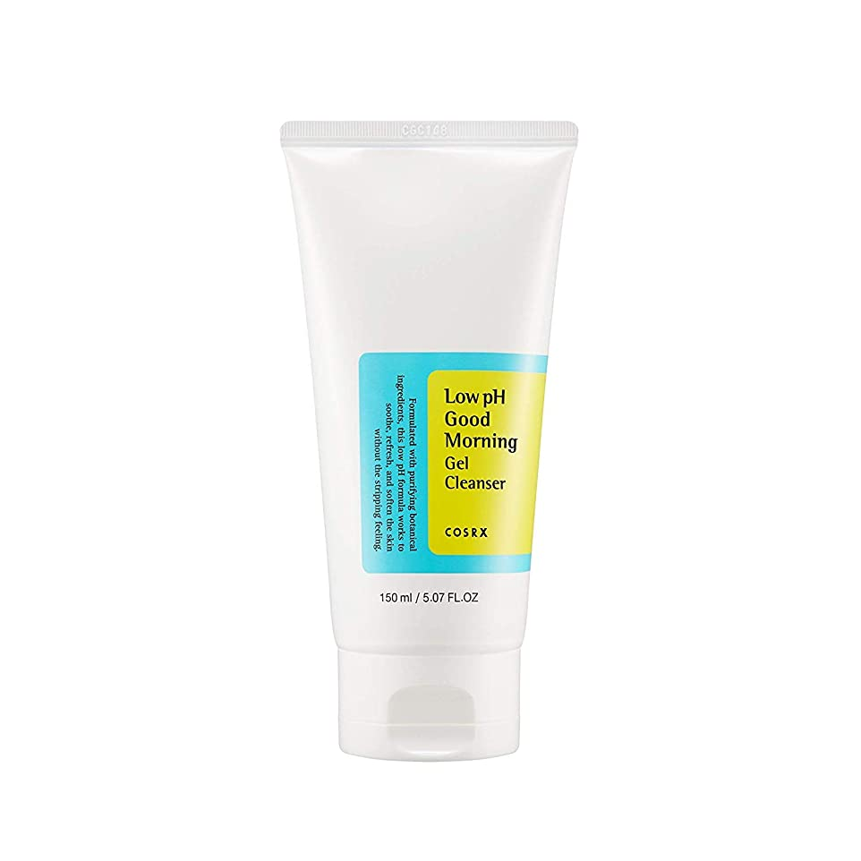 富資金フェッチCOSRX Low pH Good Morning Gel Cleanser (並行輸入品)