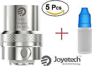 Resistencia LVC Clapton MTL ( 5 pack) de Joyetech compatible con cubis cubis pro ego aio