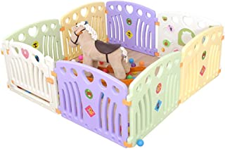Relaxbx Baby Play Fence  Children S Fence  Environmentally Friendly Materials Indoor And Outdoor Safety Playground Panels