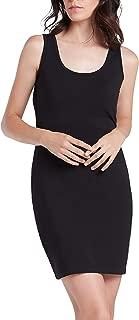 Women's Sleeveless Spaghetti Straps Mini Dress with Round-Neck