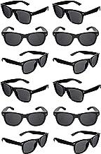 Black Sunglasses Bulk Party Favors 12 Pack Retro Black Sunglasses Exactly What Your Looking For-Graduation Mardi Gras Wedd...