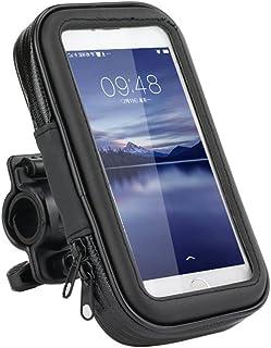 comprar comparacion Ly impermeable Funda de soporte para bicicleta y motocicleta soporte Universal con sensible pantalla táctil para iPhone X ...