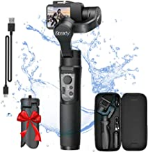 Hohem iSteady Pro 2, 3-Axis Handheld Gimbal Stabilizer for DJI OSMO, Gopro Hero 7/6/5/4/3, Yi Cam 4K, AEE, SJCAM Sports Cams, 12h Run-Time, APP Controls for Time-Lapse, Tracking, Auto Panoramas