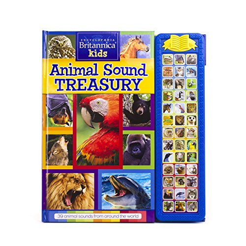 Compare Textbook Prices for PI Kids Encyclopedia Britannica Kids: Animal Sound Treasury Storybook Play-A-Sound  ISBN 9781503712102 by Editors of Phoenix International Publications,Editors of Phoenix International Publications,Editors of Phoenix International Publications,Editors of Phoenix International Publications