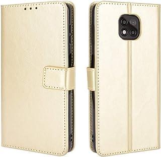 New Mobile Phone Protective Cases For Motorola Moto G Power 2021 Retro Crazy Horse Texture Horizontal Flip Leather Case wi...