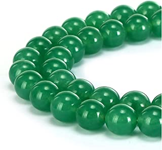 1 Strand Natural Green Agate Gemstone Loose Round Beads 8mm Spacer Beads (~ 44-47pcs) GS8-8