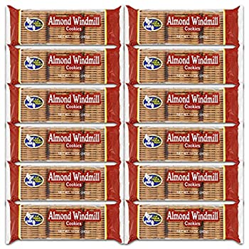 Little Dutch Maid Almond Windmill Cookie 10-Ounce  Pack of 12