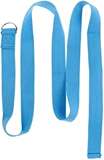 Yoga Strap D-Ring Belt Band Fitness Training Waist Leg Exercise Cotton Strap