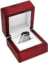 Handmade Rosewood Jewelry Ring Display Box - Pack of 12