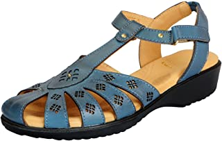 Dr.Scholls Women's Leather Closed Sandals