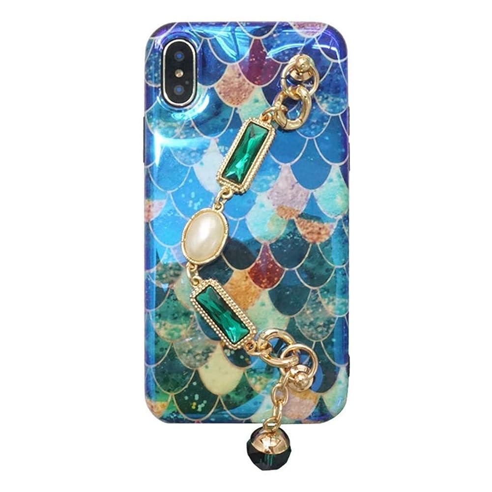 技術的な店主悪魔IPhone X ケース iPhone 6s ケース iPhone 8p ケース ワイヤレス充電対応 高耐久ケース 耐衝撃 KAKACITY (サイズ : IPhone X/XS)