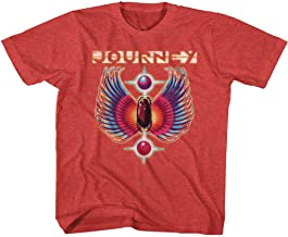 Journey Rock Band Music Group Colored Wings Logo Vintage Youth T-Shirt Tee