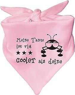 KLEINER FRATZ Baby Halstuch Meine Tante ist viel cooler als deine/in 8 Farben