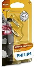 Philips Vision 12516B2 glazen sokkellamp, W1, 2W, 1 x 2 stuks