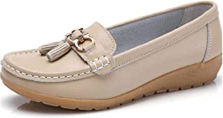 Surprise S Spring Flats Women Shoes Loafers Leather Women Flats Slip On Women's Loafers