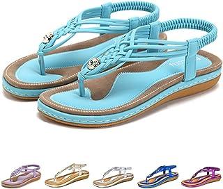 dernier style de 2019 sur les images de pieds de magasin d'usine Amazon.fr : Turquoise - Sandales / Chaussures femme ...