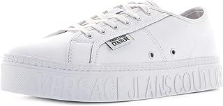 VERSACE JEANS COUTURE Sneakers Uomo Basse E0YZASD4 71603 003 Taglia 40 Bianco