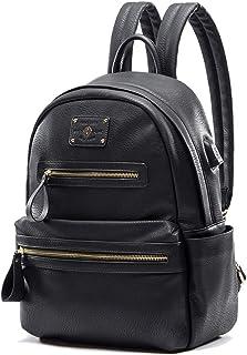 Lederrucksack Damen by Miss Fong, Rucksack Damen Rucksäcke für Damen Schulrucksack Teenager laptop rucksack mit USB-Ladege...