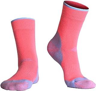 Merino Wool Hiking Socks Crew for Fall & Winter, Trekking, Outdoor, Men Women