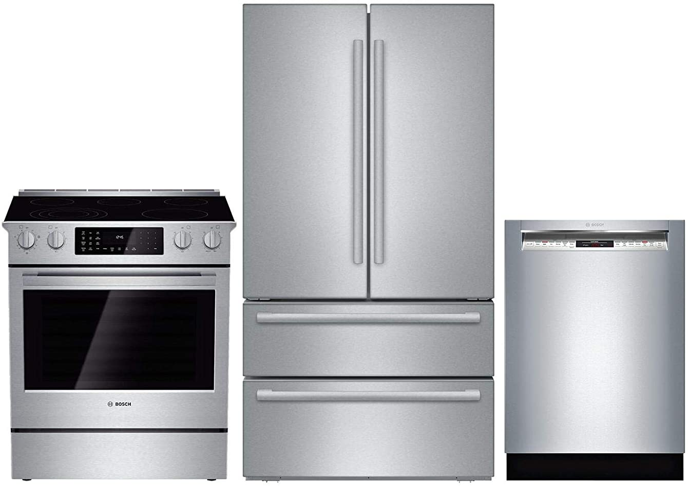 Bosch 3 Piece Kitchen Appliance Package with B21CL81SNS 36