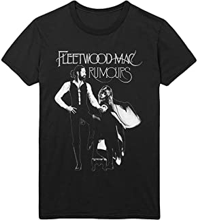 Fleetwood Mac 'Rumours' (Noir) Tee-Shirt