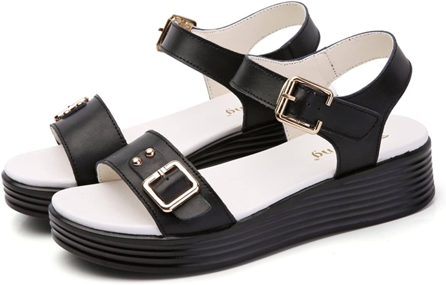 MET RXL Summer,Fashion,Casual shoes Lady,Simple,Thick-Soled Sandals