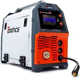 TOXINCE Mig/Lift Tig/Arc/Pulse/Double Pulse Portable MIG Welder with Aluminum 2T/4T Flux Cored Solid Core Welding Equipment MIG235AL-DP (220V)