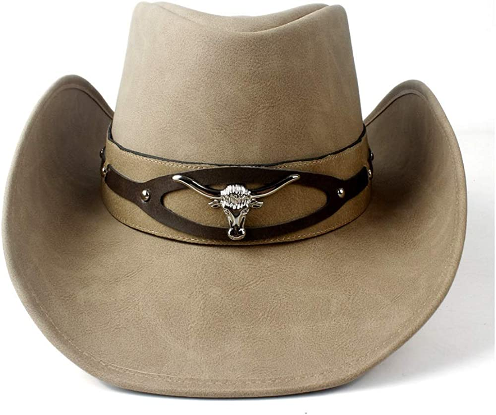 sun hat Women Men Western Cowboy New popularity Hat Gentleman Leat Dad Mail order cheap For Lady
