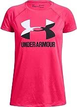 Under Armour Girls' Big Logo Solid Short Sleeve T-Shirt