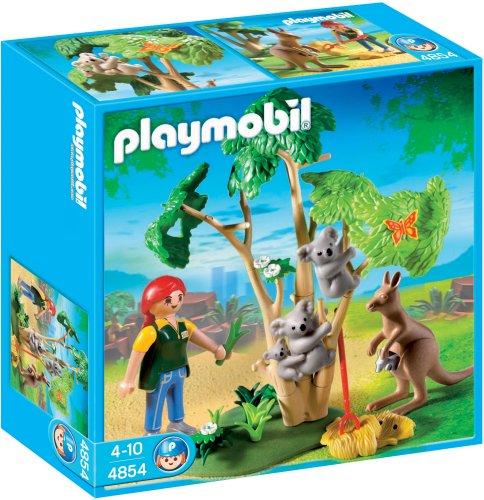 PLAYMOBIL - Koalas con Canguro (4854)