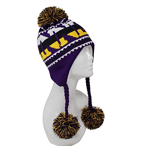 d7df270a61a ChoKoLids Football Team City Name Knitted Pom Pom Earflap Winter Hat - 24  Cities
