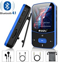 Clip Mp3 Player with Bluetooth 4.1 8GB Lossless Sound Music Player with FM Radio Voice Recorder Video Earphones for Running, Support up to 128GB