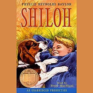 Shiloh audiobook cover art