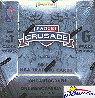 2013/14 Panini Basketball Crusade Factory Sealed HOBBY Box with TWO(2) AUTOGRAPHS/MEM! Look for Rookies Cards and Rookie Autographs of the GREAK FREAK Giannis Antetokounmpo ! Loaded!
